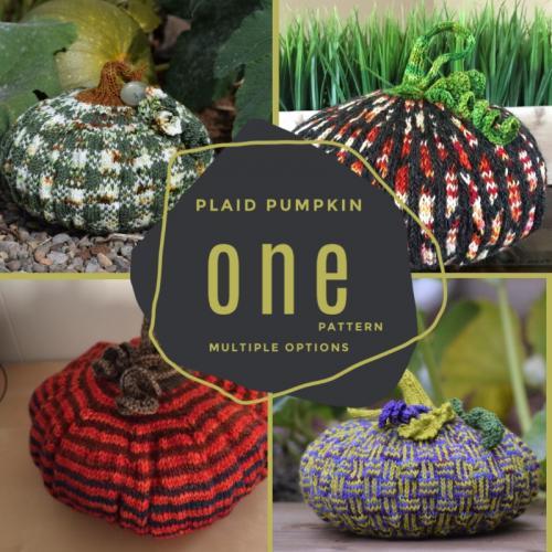 #4 Plaid Pumpkin