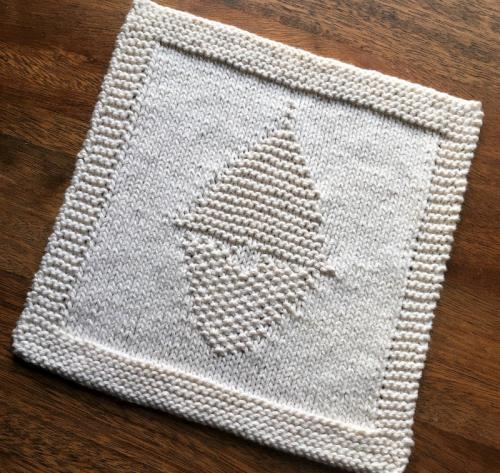 Gnome Washcloth
