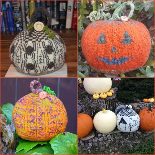 Large Colorwork Pumpkins