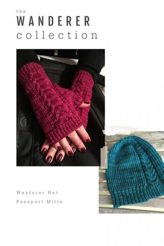The Wanderer Collection - Passport Mitts and The Wayfarer Hat
